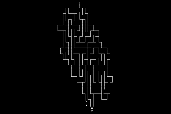 Shaped maze generator! card